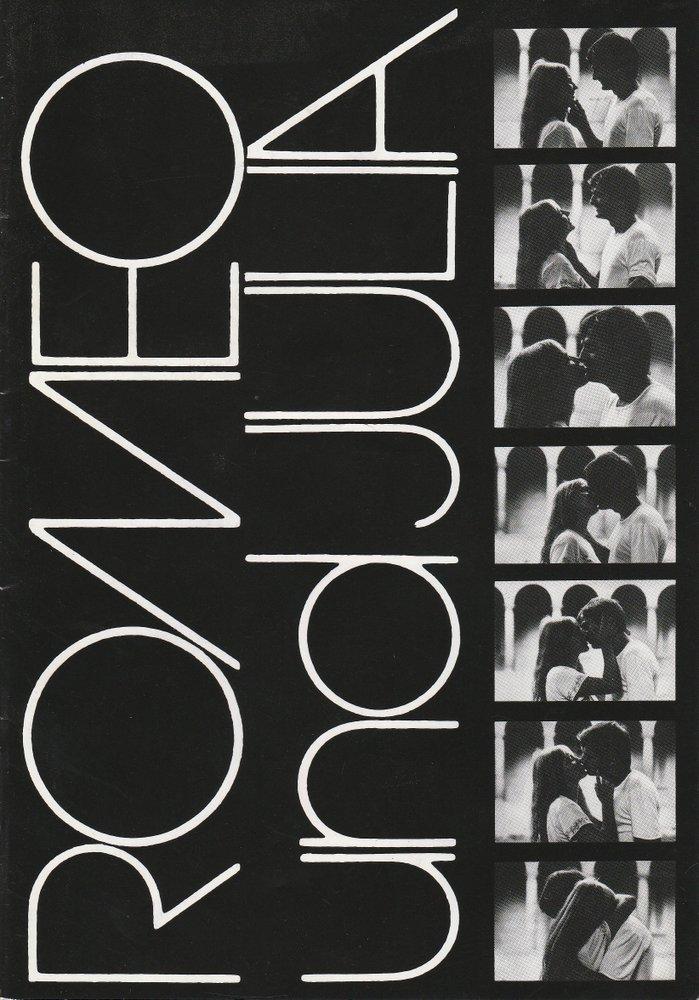 Programmheft Romeo und Julia Komische Oper Berlin 1992
