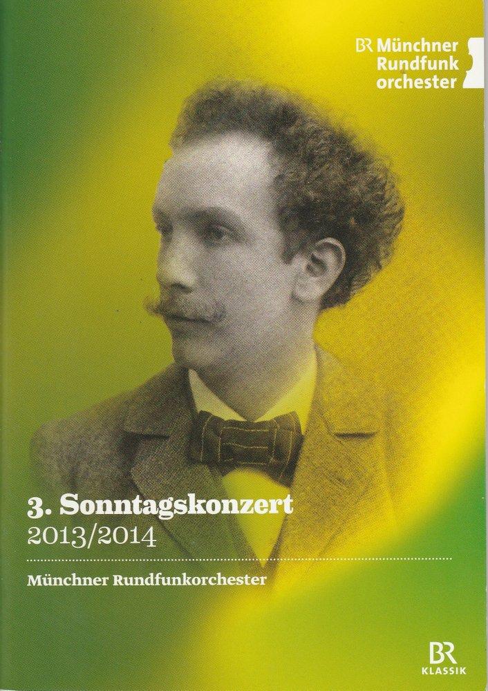 Programmheft Richard Strauss: Feuersnot. Münchner Rundfunkorchester 2014