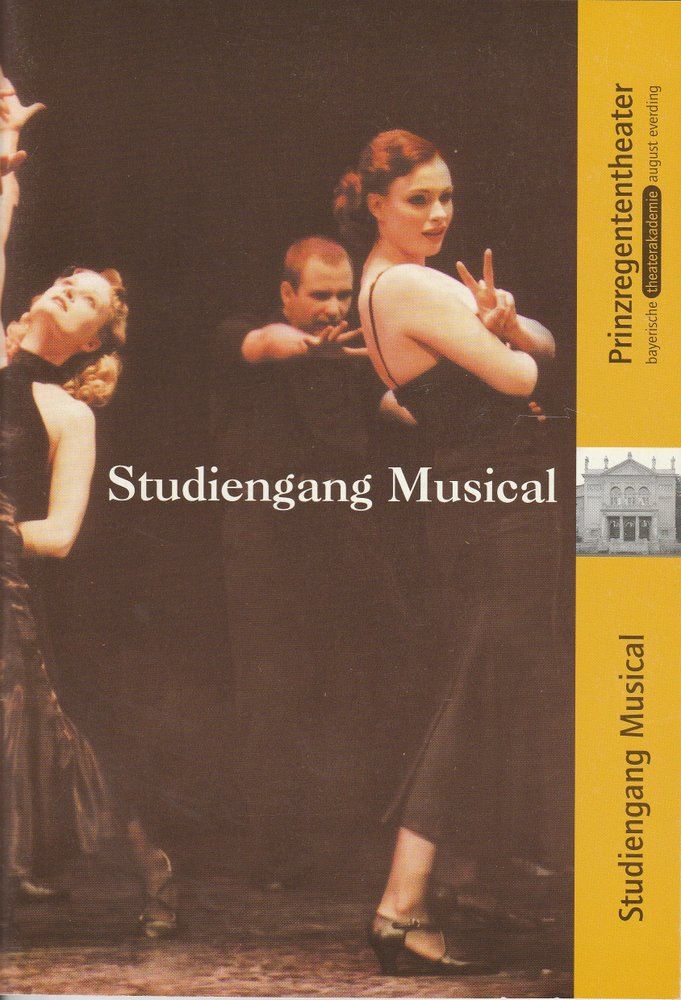 Studiengang Musical Bayerische Theaterakademie August Everding