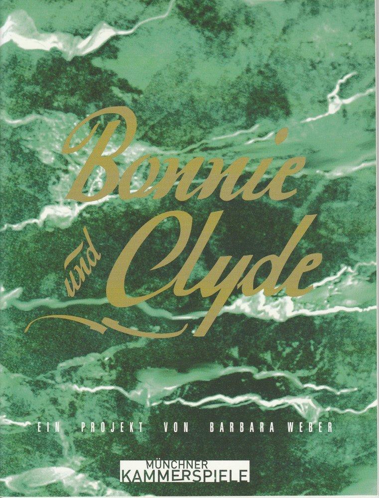 Programmheft Bonnie und Clyde Münchner Kammerspiele 2010