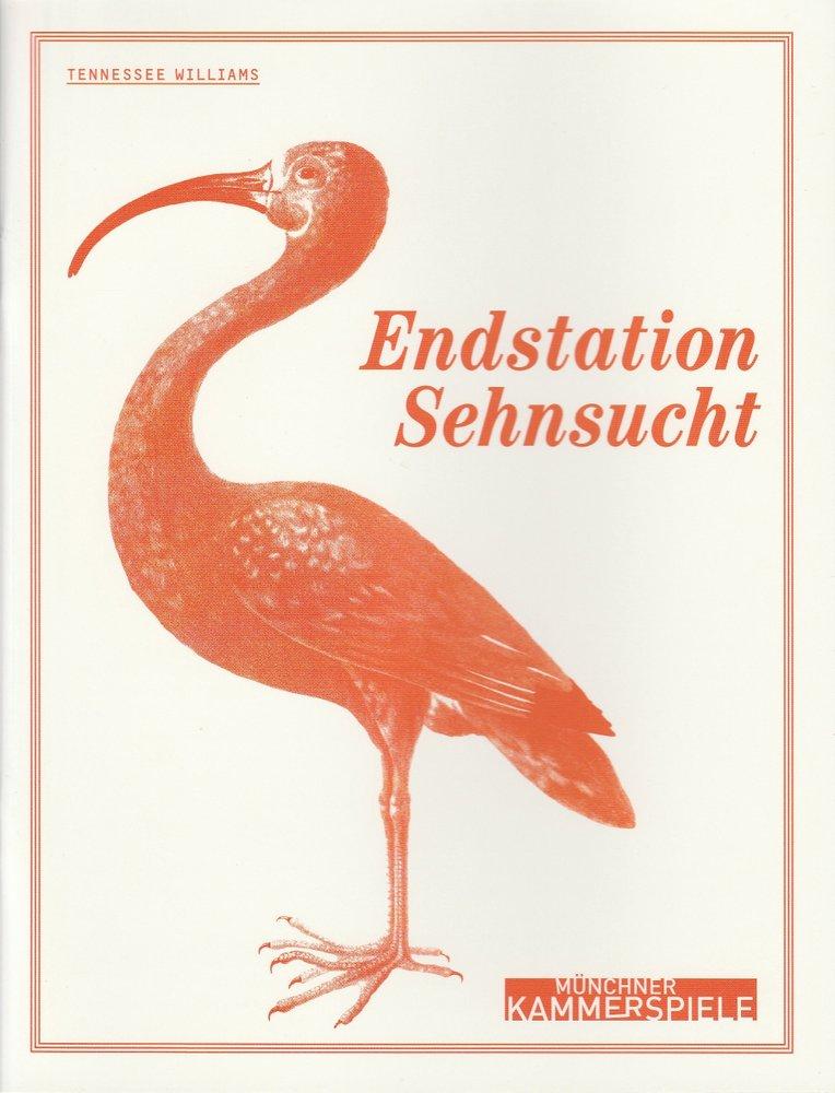 Programmheft Tennessee Williams: Endstation Sehnsucht Münchner Kammerspiele 2010