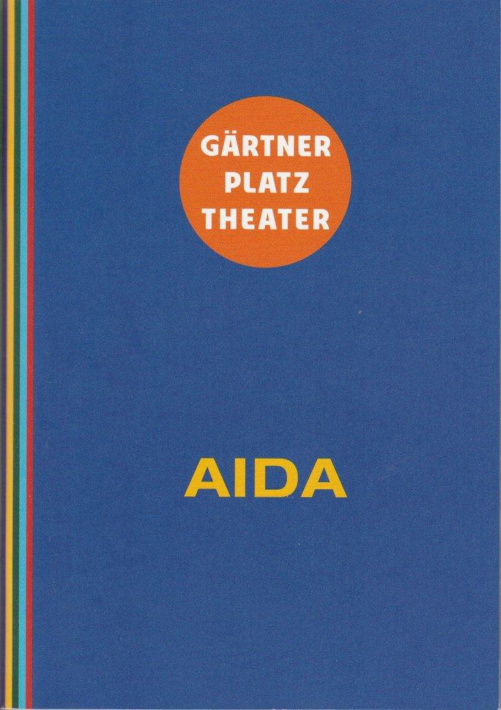 Programmheft Verdi: AIDA Staatstheater am Gärtnerplatz 2014