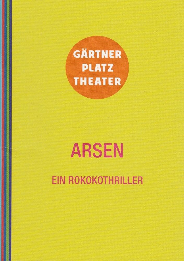 Programmheft ARSEN Ballett Staatstheater am Gärtnerplatz 2014