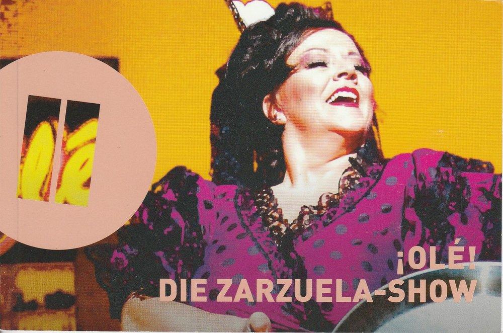Programmheft OLE! Die Zarzuela-Show Theater Heidelberg 2010