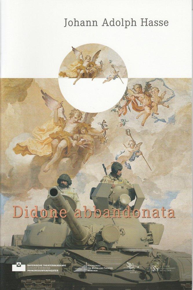 Programmheft Didone abbandonata Bayerische Theaterakademie 2011