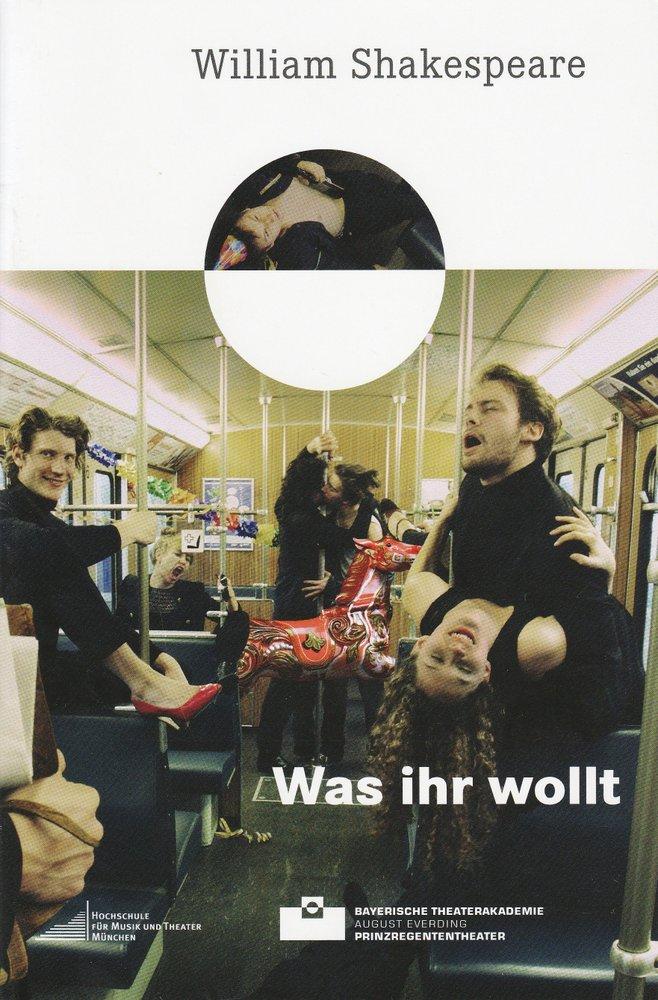 Programmheft Shakespeare WAS IHR WOLLT Bayerische Theaterakademie 2010