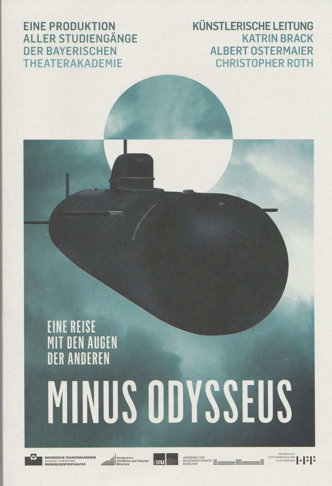 Programmheft MINUS ODYSSEUS Bayerische Theaterakademie 2010