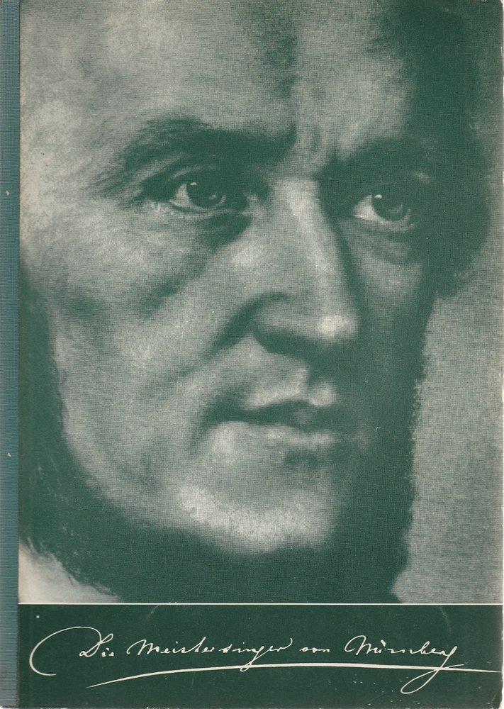 Programmheft I Die Meistersinger von Nürnberg Bayreuther Festspiele 1973
