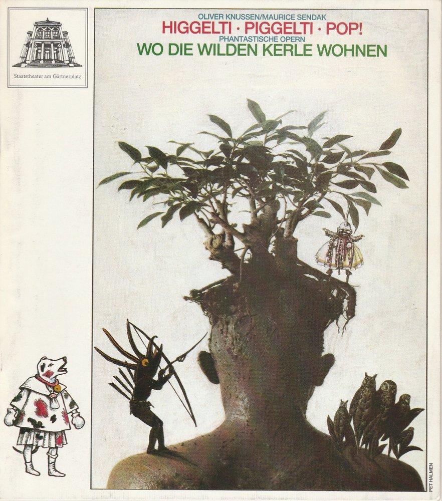 Programmheft Higgelti, Piggelti, Pop! Staatstheater am Gärtnerplatz 1992
