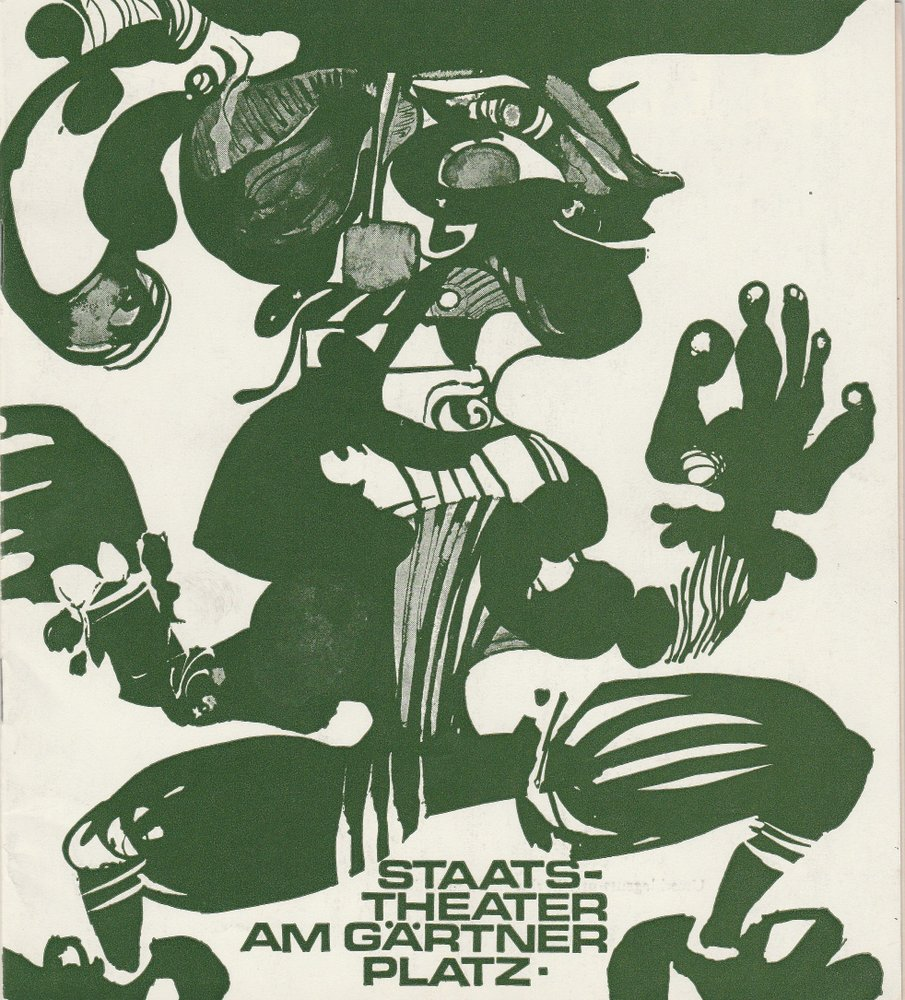 Programmheft Leo Delibes: COPPELIA Staatstheater am Gärtnerplatz 1974