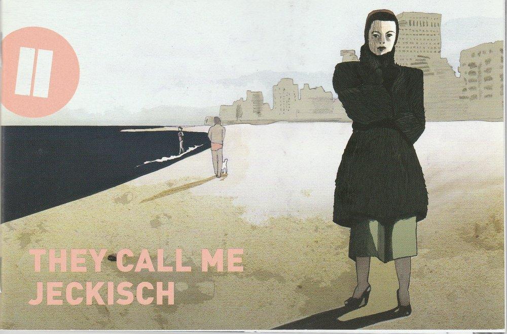 Programmheft Uraufführung Familienbande. They call me Jeckisch Heidelberg 2010