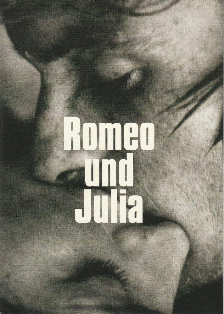 Programmheft William Shakespeare: Romeo und Julia Münchner Volkstheater 2003
