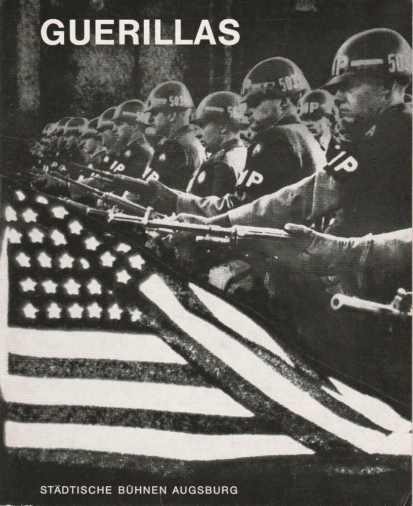 Programmheft GUERILLAS. Tragödie von Rolf Hochhuth Augsburg 1970