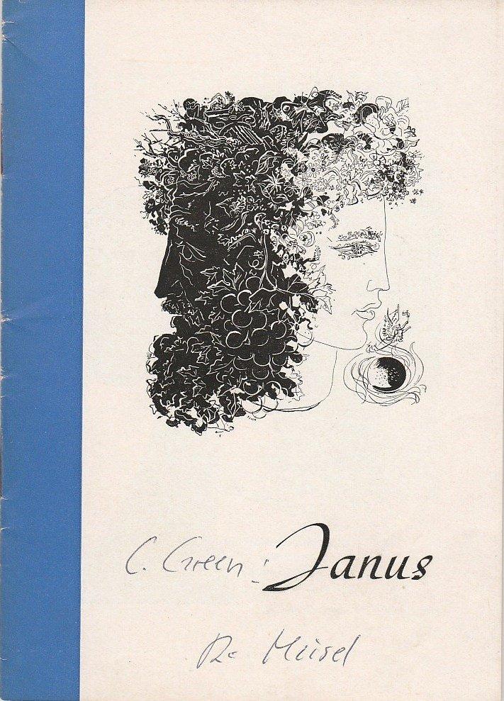 Programmheft JANUS. Komödie von Carolyn Green Renaissance-Theater Berlin 1955