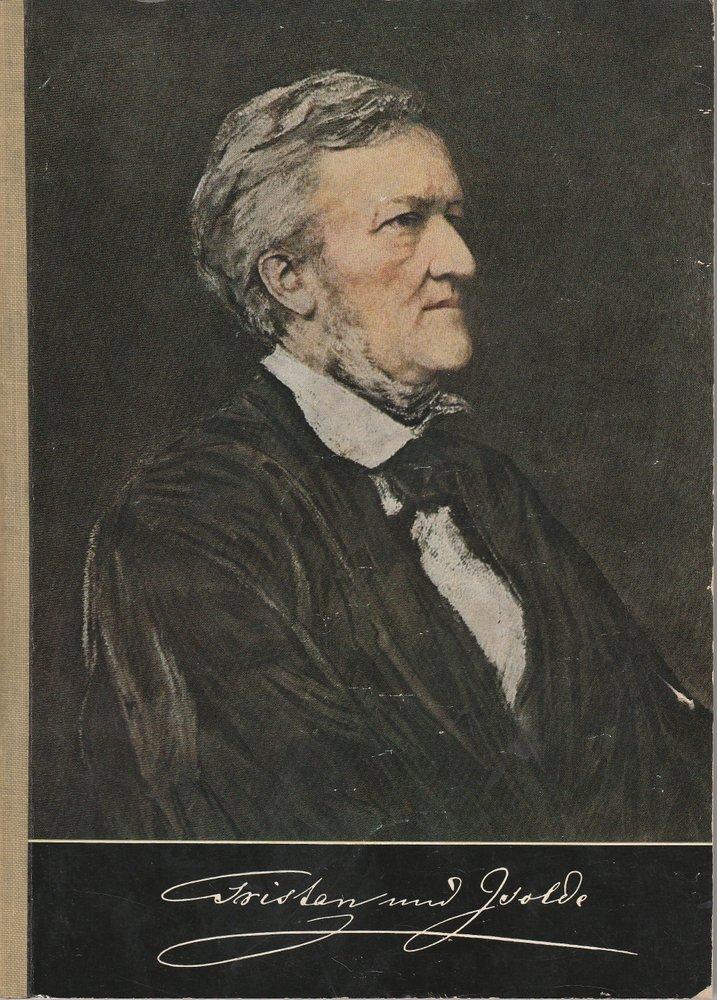 Programmheft I Bayreuther Festspiele 1970 Tristan und Isolde von Richard Wagner