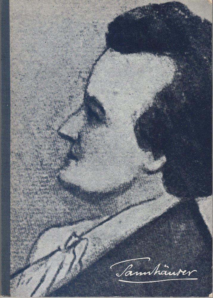 Programmheft I Tannhäuser von Richard Wagner Bayreuther Festspiele 1972