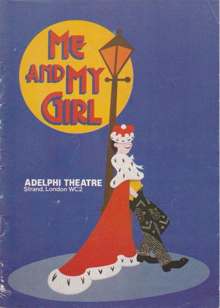 Programmheft Me And My Girl Adelphi Theatre London 1986