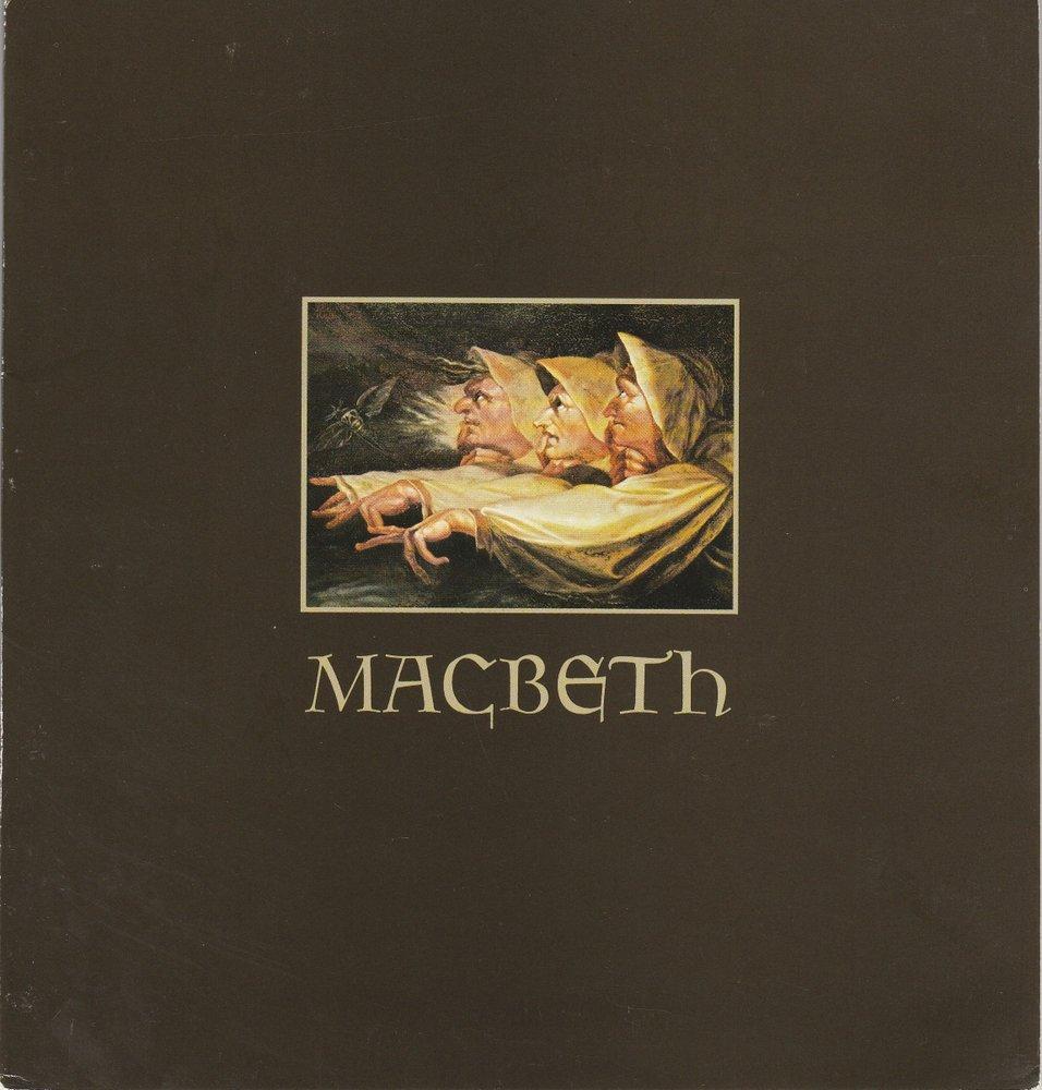 Programmheft Giuseppe Verdi MACBETH Hamburgische Staatsoper 1980