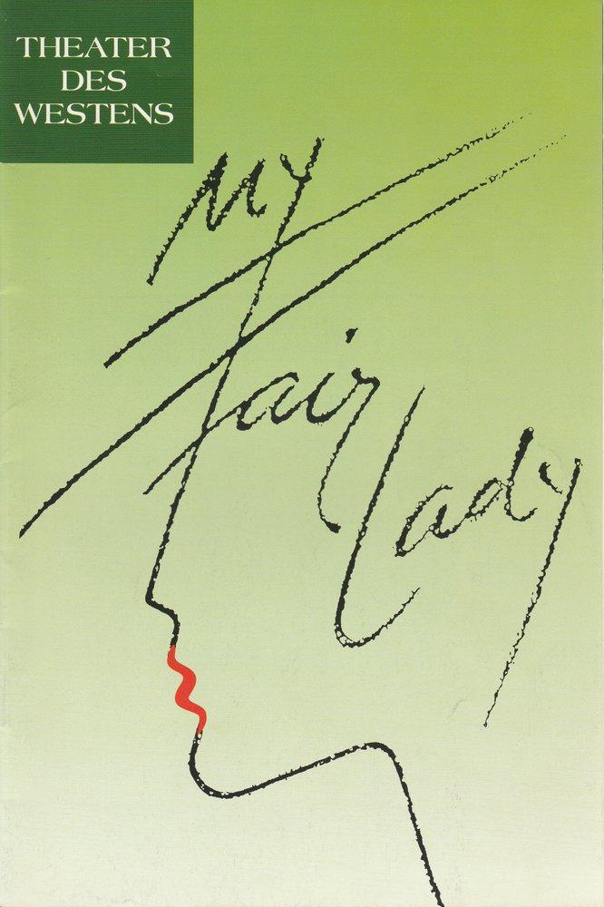Programmheft My Fair Lady Theater des Westens Spielzeit 1997