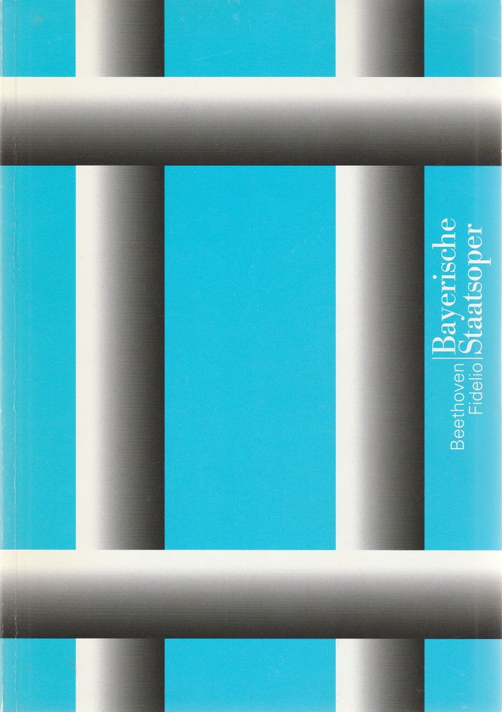 Programmheft FIDELIO von Ludwig van Beethoven Bayerische Staatsoper 1999