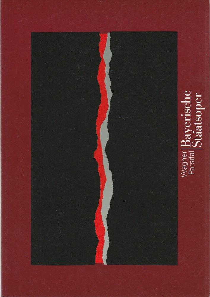 Programmheft Parsifal von Richard Wagner Bayerische Staatsoper 1998