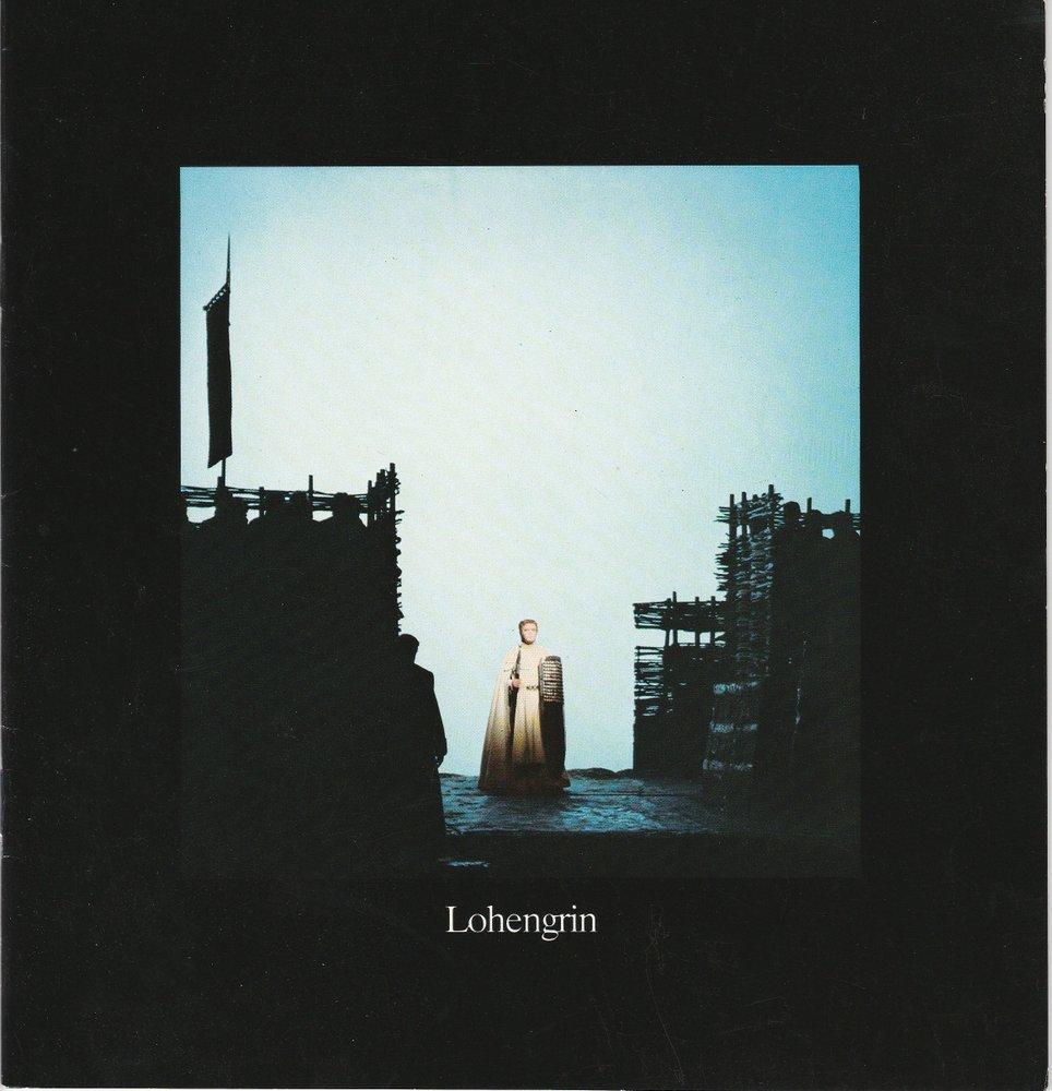 Programmheft Richard Wagner Lohengrin Hamburgische Staatsoper 1982