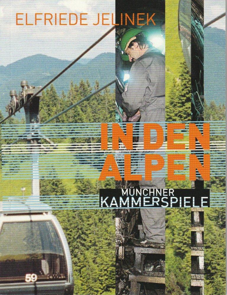Programmheft Uraufführung In den Alpen von Elfriede Jelinek 2002