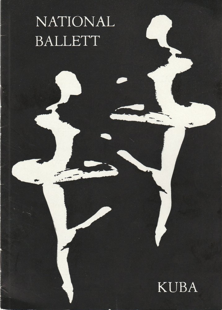 Programmheft NATIONALBALLETT KUBA 18. / 19. September 1972 Kulturpalast Dresden