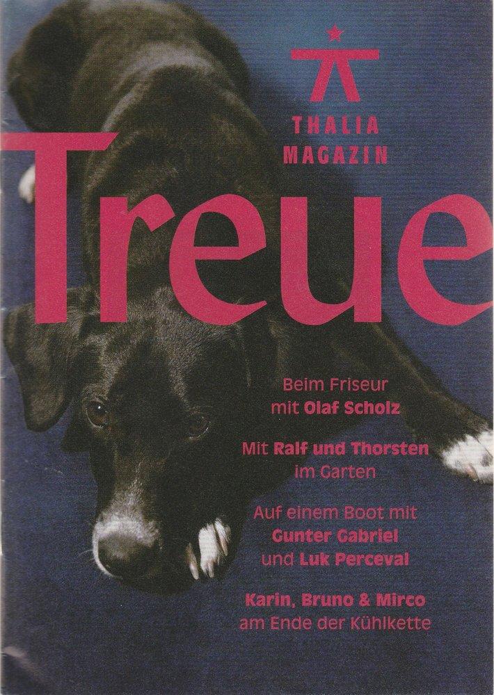 Programmheft Thalia Magazin Treue 2011