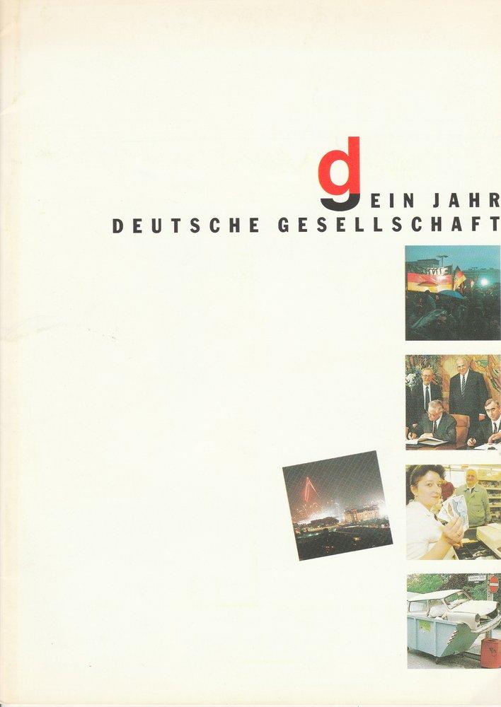 DG Ein Jahr Deutsche Gesellschaft