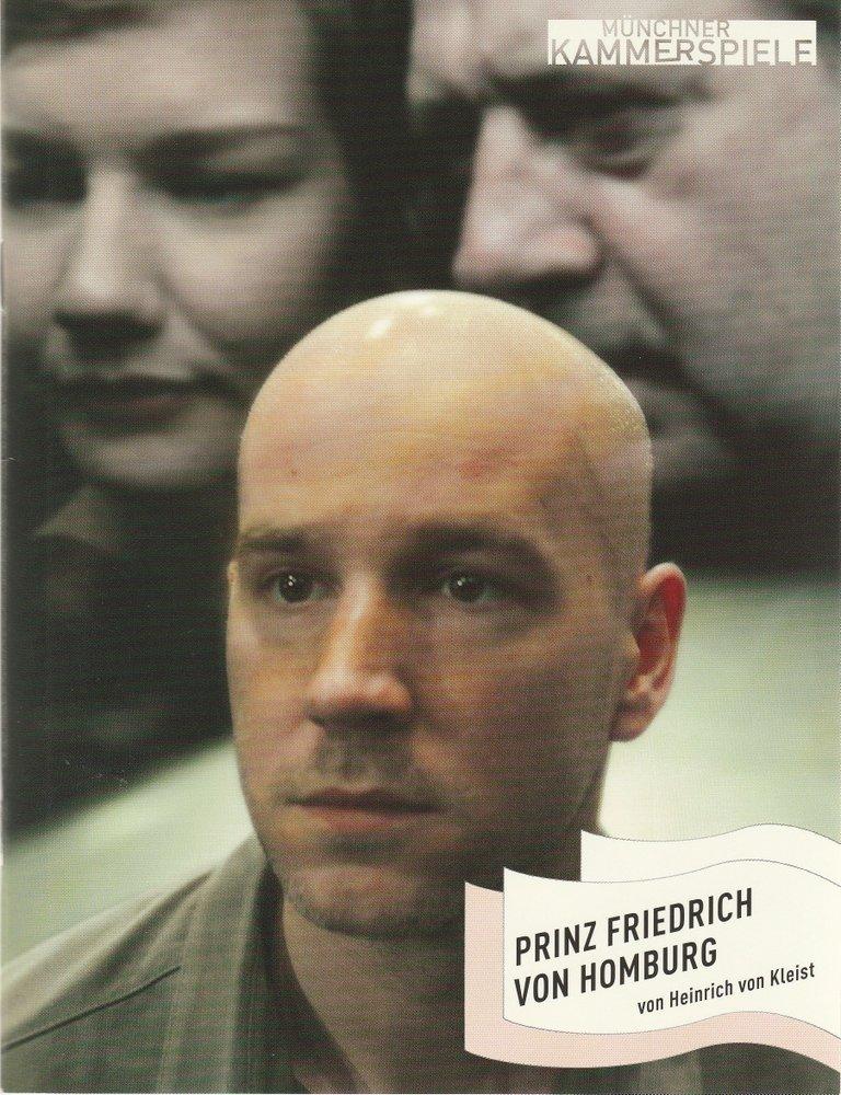Programmheft Prinz Friedrich von Homburg Münchner Kammerspiele 2007