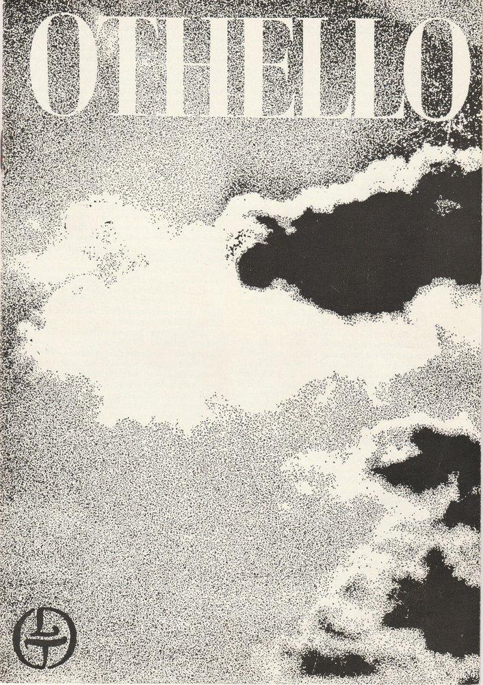 Programmheft Giuseppe Verdi OTHELLO Leipziger Theater 1977