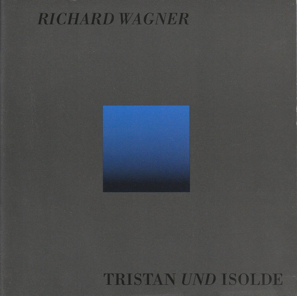 Programmheft Richard Wagner TRISTAN UND ISOLDE Semperoper Spielzeit 1994 / 95