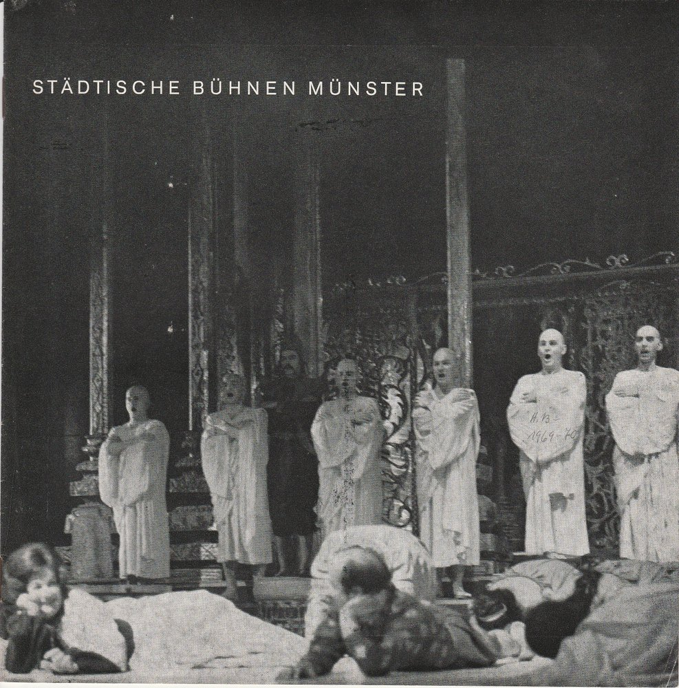 Städtische Bühnen Münster  Spielzeit 1969 / 70 Information 13