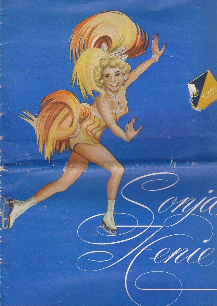 Programmheft Sonja Henie 1953 - Eisballett Berliner Sportpalast