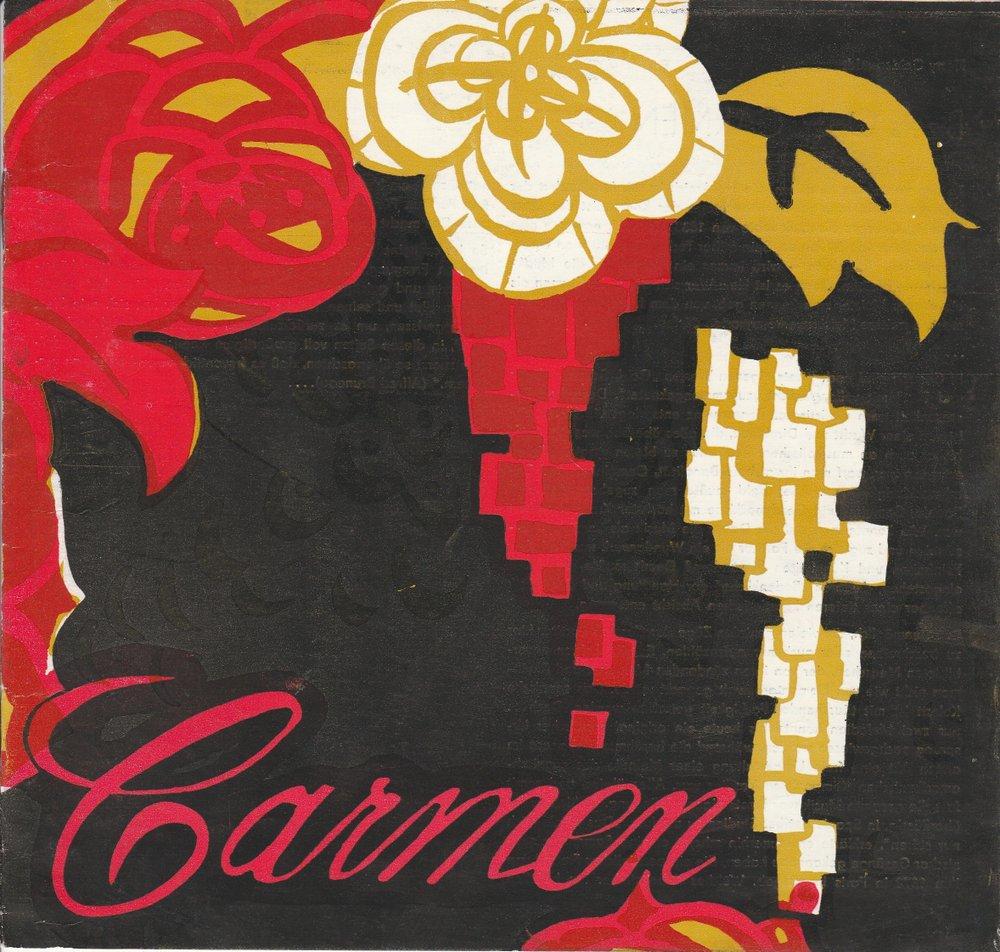 Programmheft Georges Bizet: CARMEN Brandenburger Theater 1987