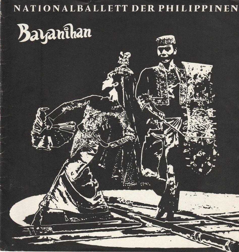 Programmheft BAYANIHAN. NATIONALBALLETT DER PHILIPPINEN DDR 1977