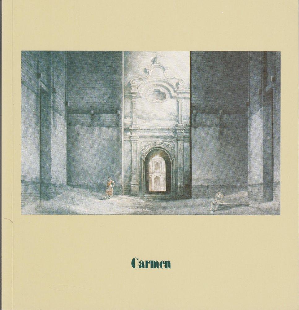 Programmheft Georges Bizet: CARMEN Hamburgische Staatsoper 1980 2002