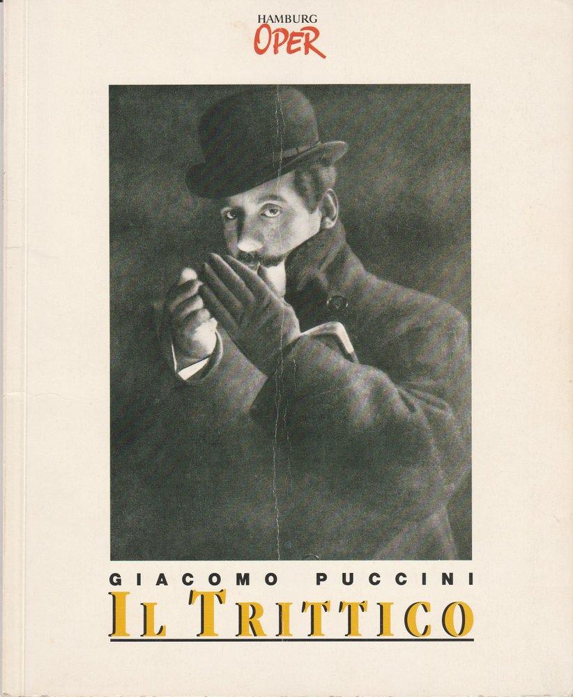 Programmheft Giacomo Puccini: Il Trittico Hamburgische Staatsoper 1995