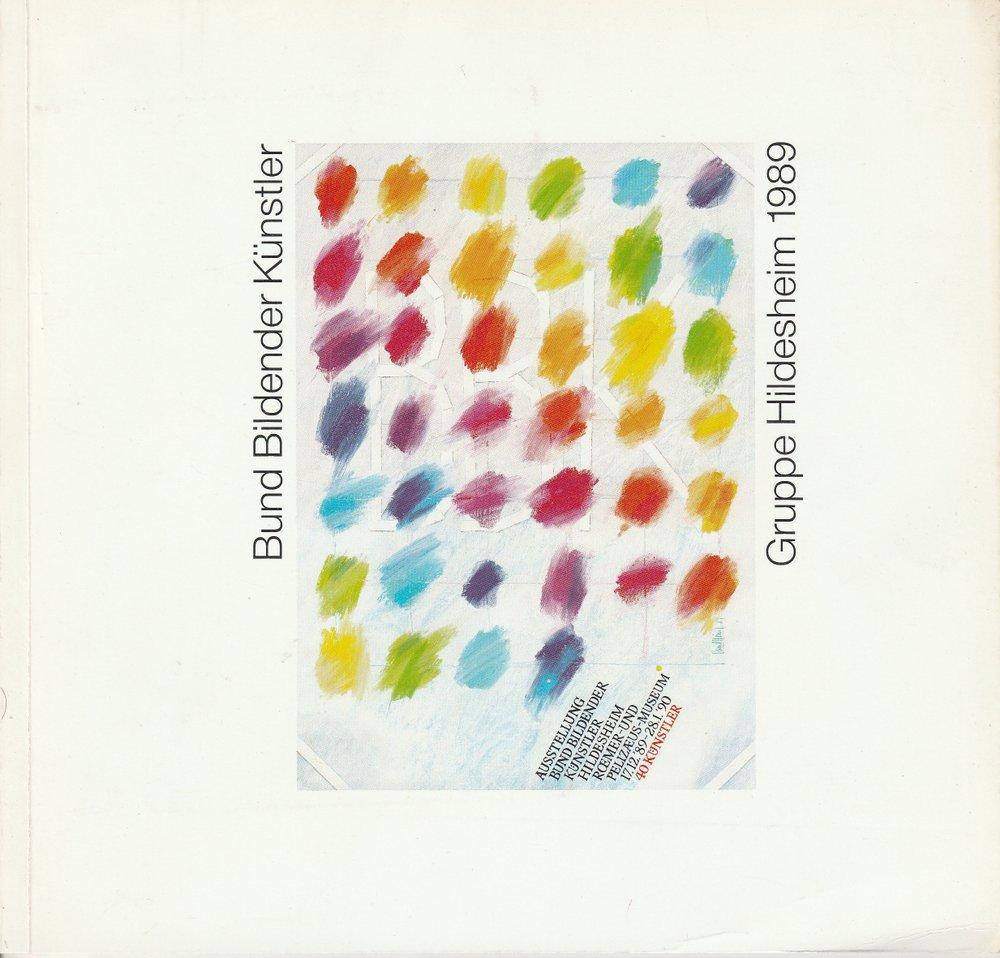 Bund Bildender Künstler Ausstellung des BBK 1989