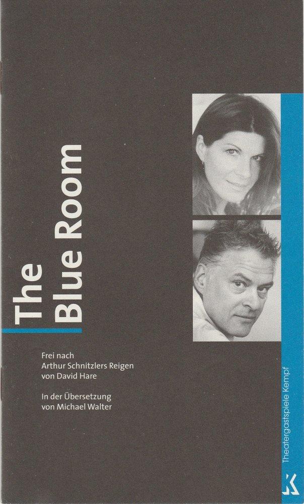 Programmheft THE BLUE ROOM Theatergastspiele Kempf 2004