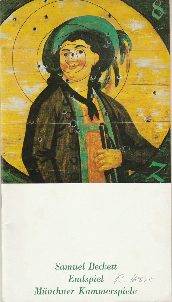 Programmheft Samuel Beckett: ENDSPIEL Münchner Kammerspiele 1978