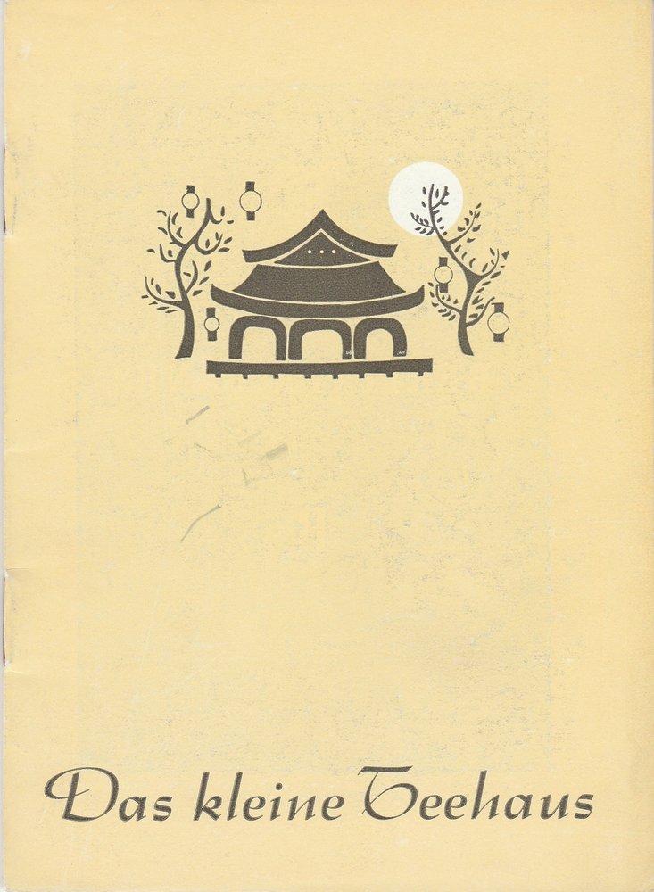 Programmheft DAS KLEINE TEEHAUS John Patrick Renaissance-Theater 1954