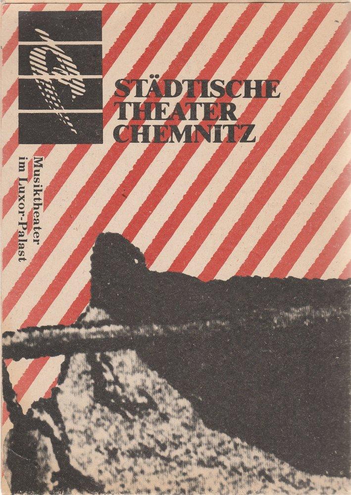 Programmheft HÄNSEL UND GRETEL Luxor-Palast Chemnitz 1991