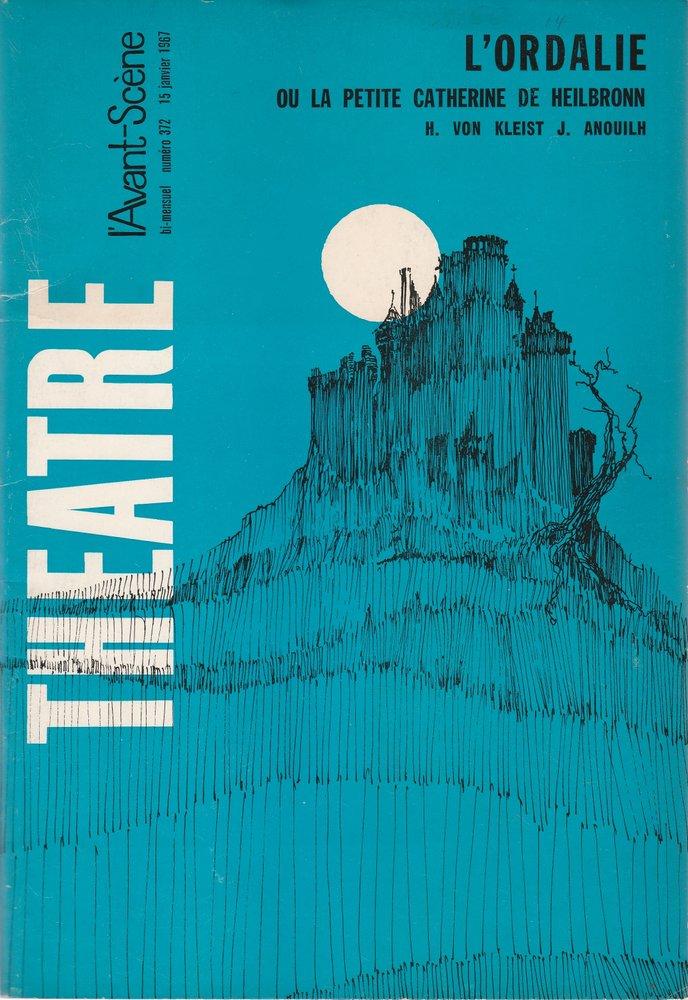 Programmheft L'ORDALIE OU LA PETITE CATHERINE DE HEILBRONN 1967