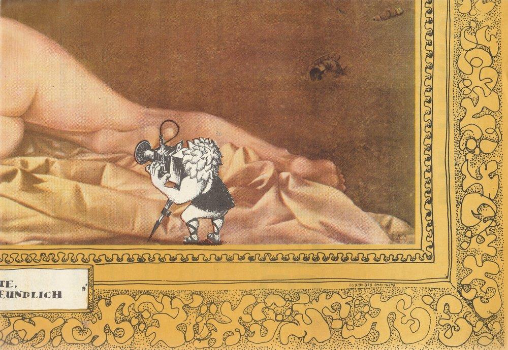 Programmheft Die Herkuleskeule BITTE RECHT FREUNDLICH ca. 1980 Plakat