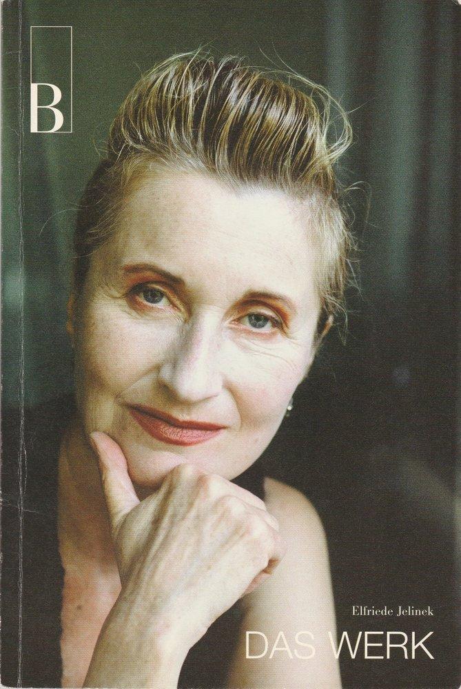 Programmheft Uraufführung Elfriede Jelinek DAS WERK Burgtheater 2003