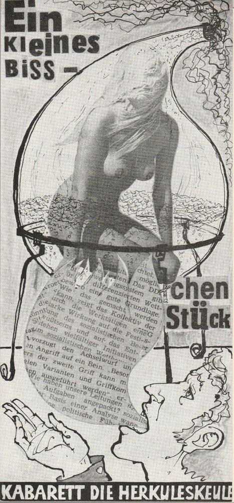 Programmheft Glauche / Schaller EIN KLEINES BIßCHEN STÜCK DIE HERKULESKEULE 1978