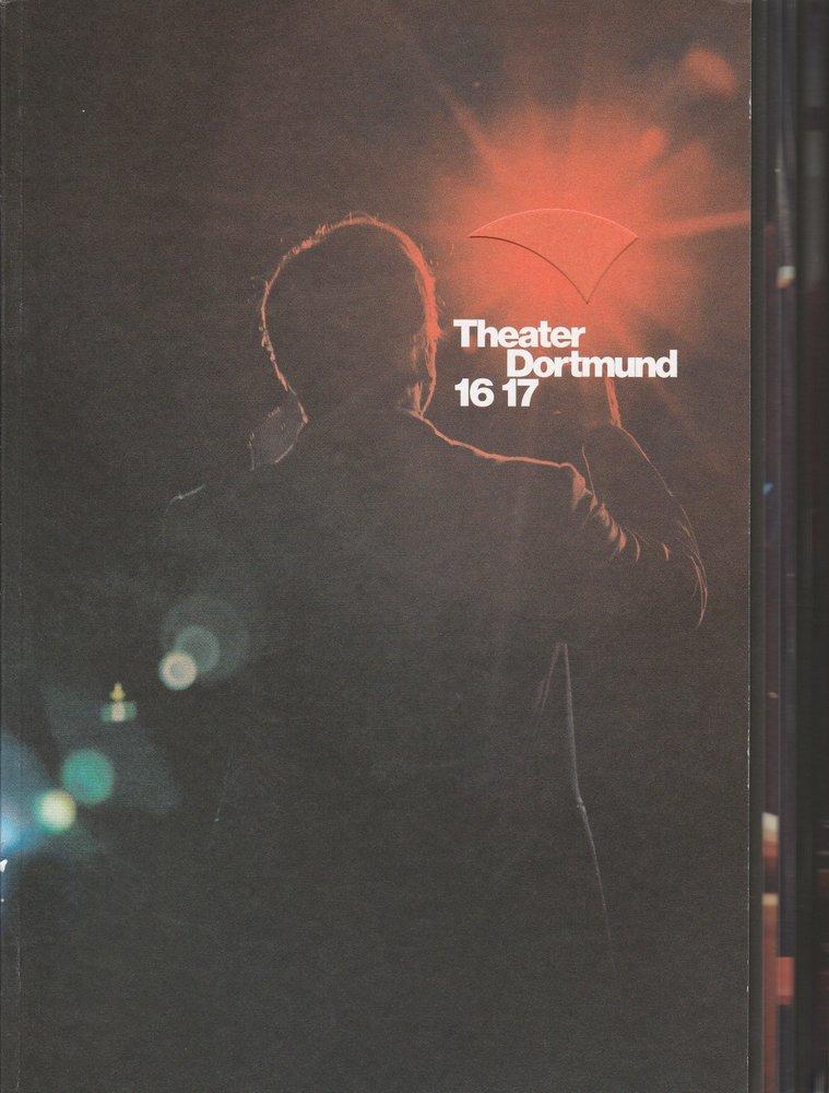 Theater Dortmund 16 17 Spielzeitheft