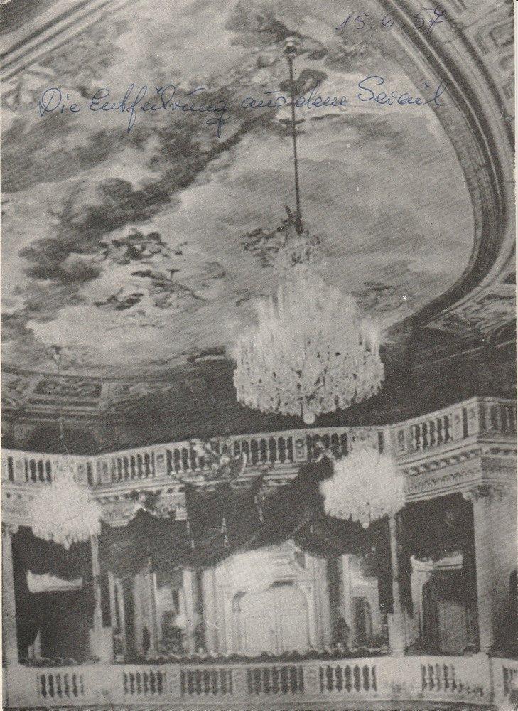 Programmheft W. A. Mozart DIE ENTFÜHRUNG AUS DEM SERAIL Stadttheater Zittau 1957